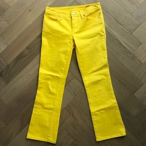 🌞🌞Tory Burch cropped jeans🌞🌞
